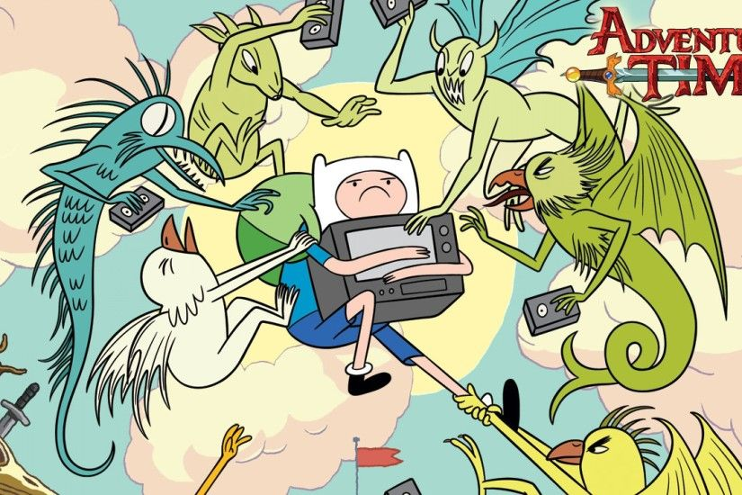 3840x2160 Wallpaper adventure time with finn & jake, finn, jake
