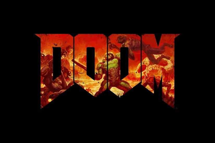 large doom wallpaper 3840x2160 for mac