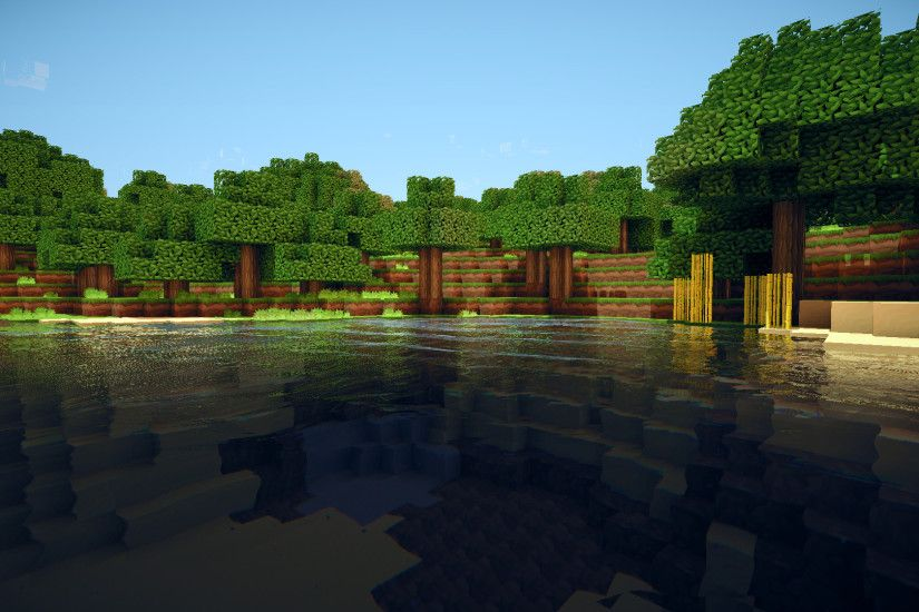 Video Game - Minecraft Water Wallpaper