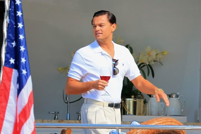 Movie - The Wolf of Wall Street Leonardo Dicaprio Jordan Belfort Wallpaper