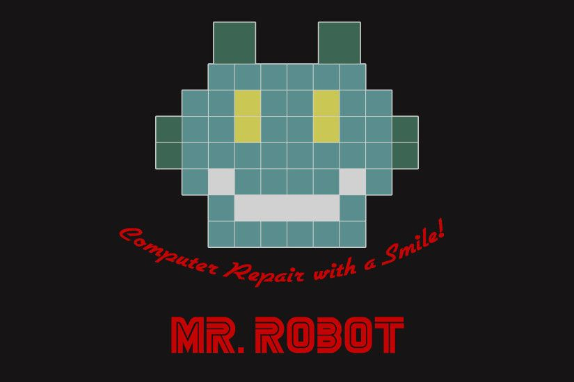 Mr. Robot Computer Repair with a Smile! (wallpapers for desktop and mobile)  : MrRobot