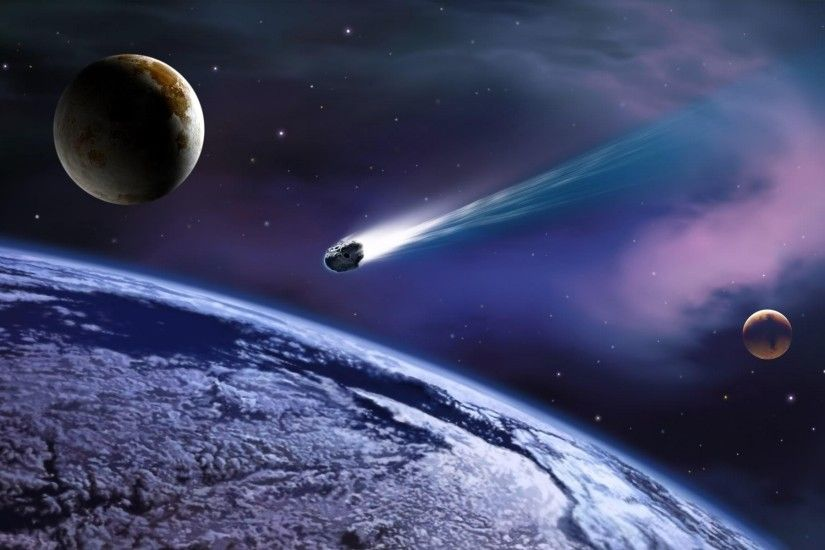 Meteor Apocalypse Wallpaper HD