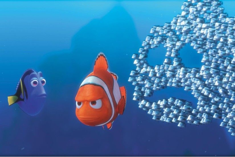 FINDING NEMO animation underwater sea ocean tropical fish adventure family  comedy drama disney 1finding-nemo wallpaper | 2048x1108 | 567460 |  WallpaperUP