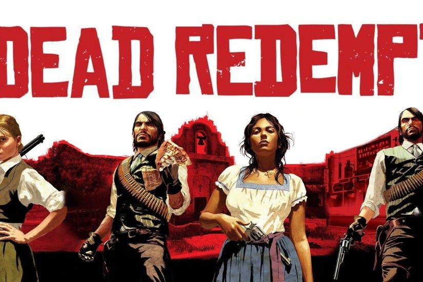 Red Dead Redemption HD Desktop Wallpapers for