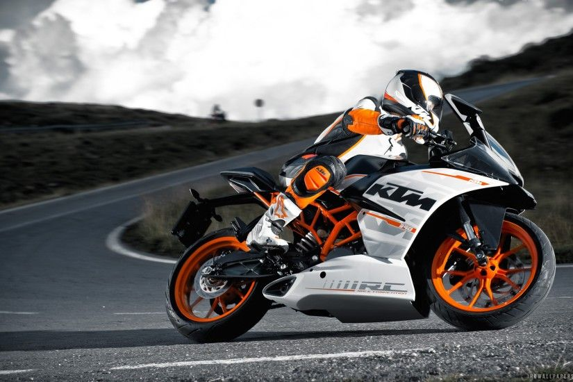 KTM RC 390 wallpaper thumb