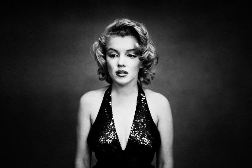 Marilyn Monroe, Women, Monochrome Wallpapers HD / Desktop and Mobile  Backgrounds