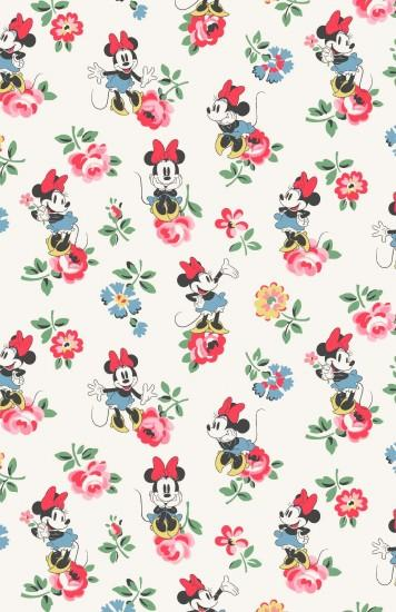 Minnie Linen Sprig | Minnie strikes a pretty pose amongst our delicate  florals | Disney X