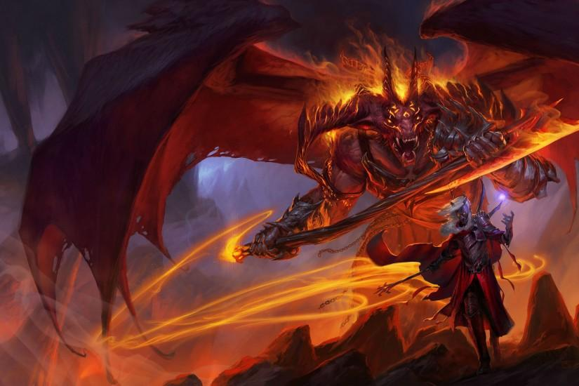 widescreen dungeons and dragons wallpaper 3300x2100 windows 10