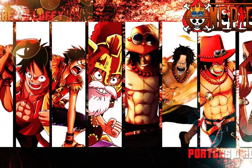 Anime - One Piece Portgas D. Ace Monkey D. Luffy Wallpaper