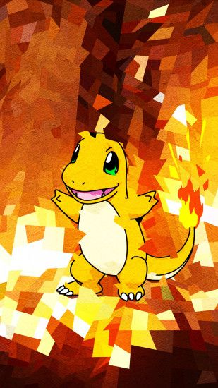 Trigraphy-Wallpaper-Charmander