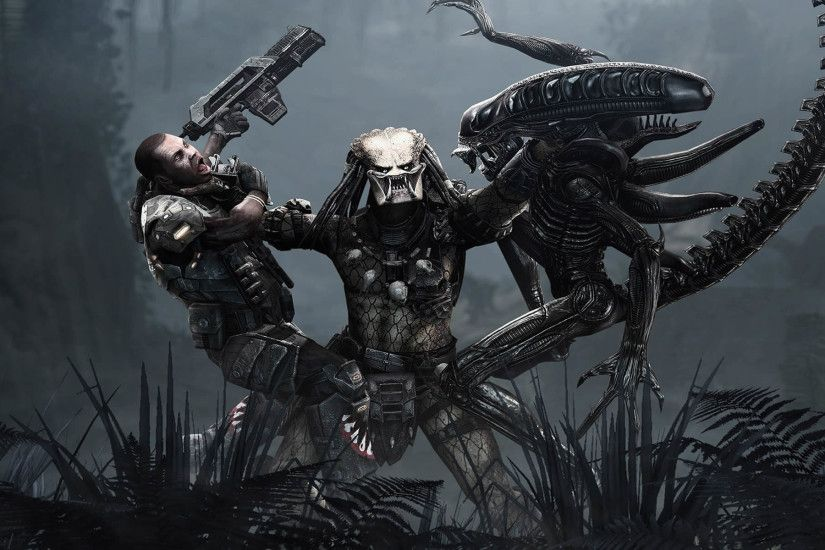 Image - Predator-beating-alien-and-marine-Excision.jpg | Call of Duty Fan  Fiction Wiki | FANDOM powered by Wikia