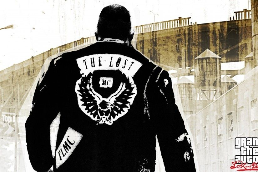 Preview wallpaper the lost, gang, gta 4 lost and damned, gta 4,