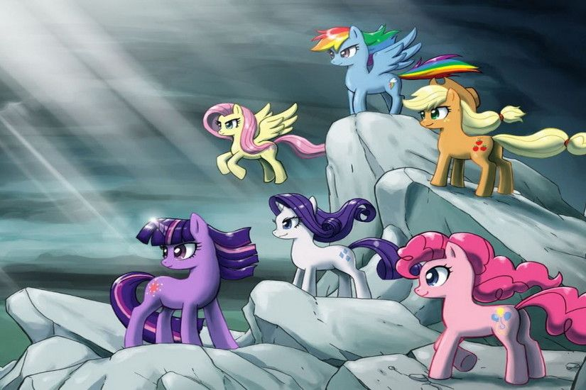 Image - My Little Pony Friendship Is Magic's wallpaper.jpg | My Little Pony  Fan Labor Wiki | FANDOM powered by Wikia