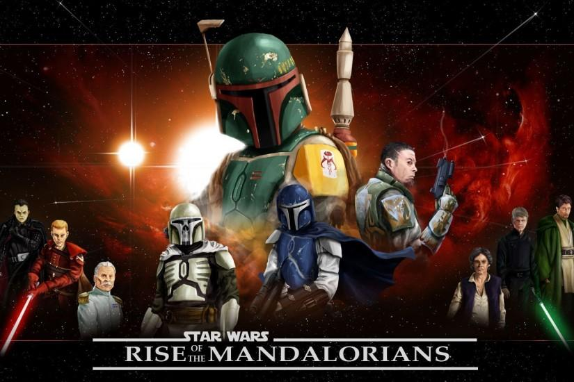 Images For > Mandalorian Wallpaper