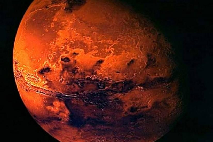 Mars, A picture of Mars. Mars is the fourth planet from the Sun and