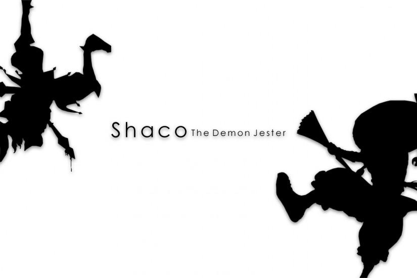 HorribleKraken 0 2 Shaco - The Demon Jester Wallpaper 1920 x 1080 by  UnknownBronze