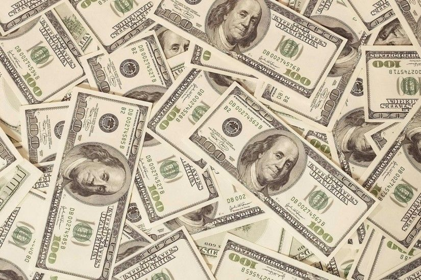 Preview wallpaper money, dollars, bills, background, surface 1920x1080