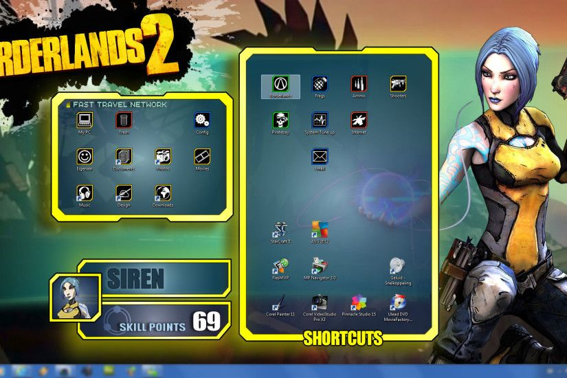 mentalmars 44 2 Borderlands 2 - Wallpapers Pack - Maya UI by mentalmars
