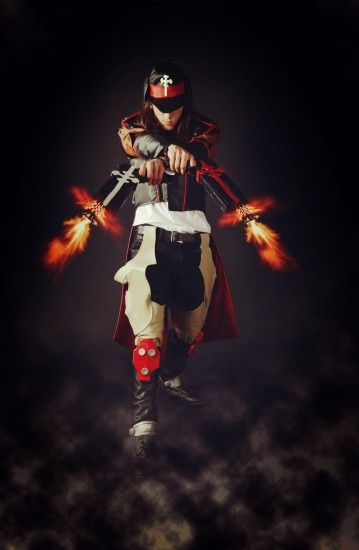 ... Gungrave [Brandon Heat] Cosplay 2 by MEG-Cosplay
