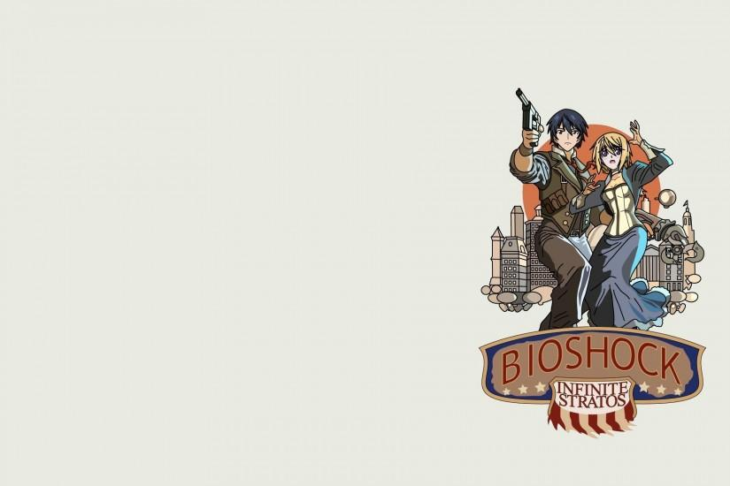Bioshock Bioshock Infinite Infinite Stratos Anime wallpaper background