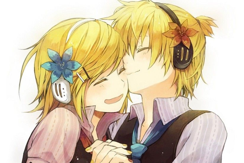 ... Len and Kagamine Rin - Vocaloid HD Wallpaper 1920x1200