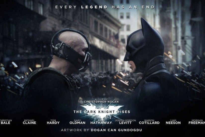 Bane and Batman in The Dark Knight Rises Wallpapers | HD Wallpapers