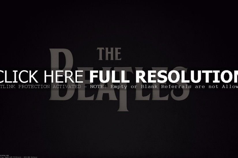The Beatles Logo (id: 167559)