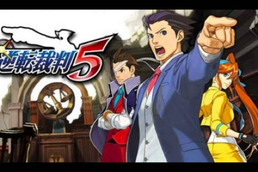 Phoenix Wright: Ace Attorney 5 - Dual Destinies Demo Soundtrack【逆転裁判5】  [Download] - YouTube