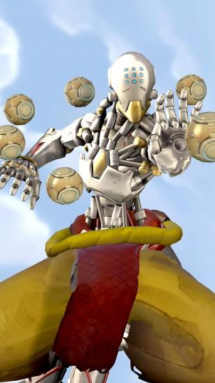 zenyatta wallpaper 2160x3840 for 4k monitor
