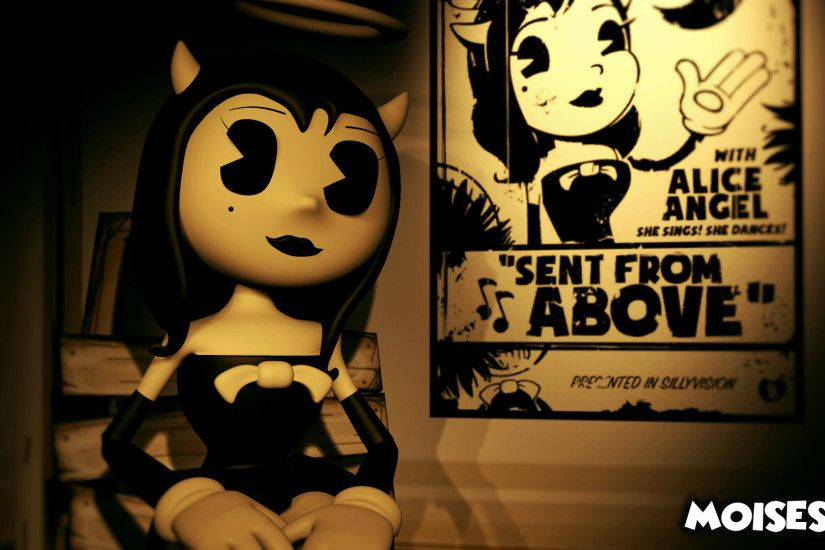 ... Alice Angel [Bendy and the Ink machine] by Moises87