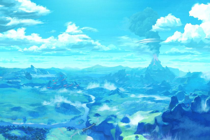 ... Breath Of The Wild Zelda. Wallpaper 662556