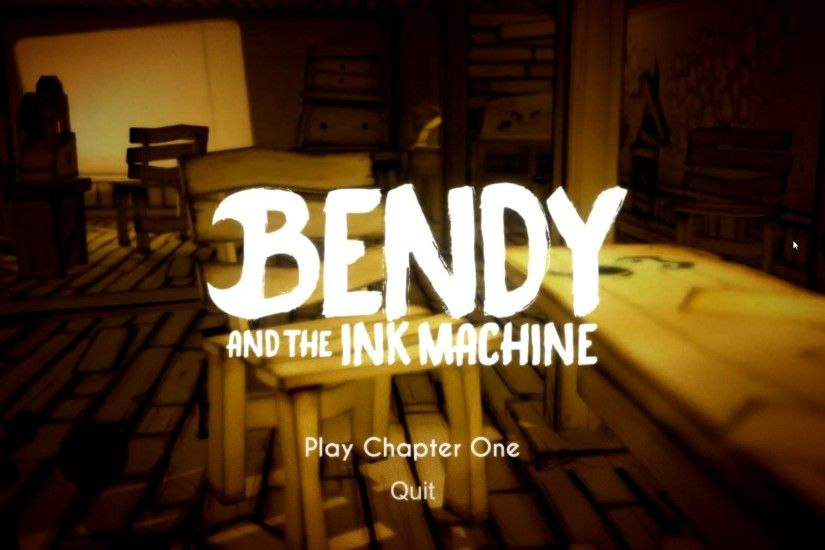 Bendy and the Ink Machine – Scaredy-Boter Reviews Something