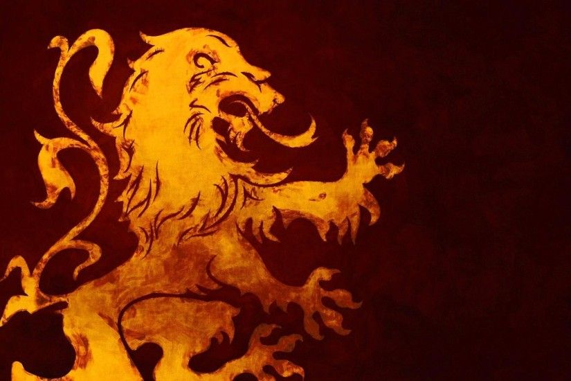 A Song Of Ice And Fire, Game Of Thrones, House Lannister, Lion, Sigils  Wallpapers HD / Desktop and Mobile Backgrounds