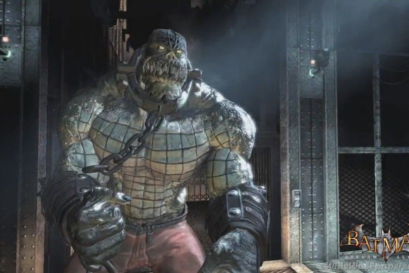 Imagen - Killer-Croc-Batman-Arkham-Asylum-Wallpapers-HD.jpg | Batpedia |  FANDOM powered by Wikia
