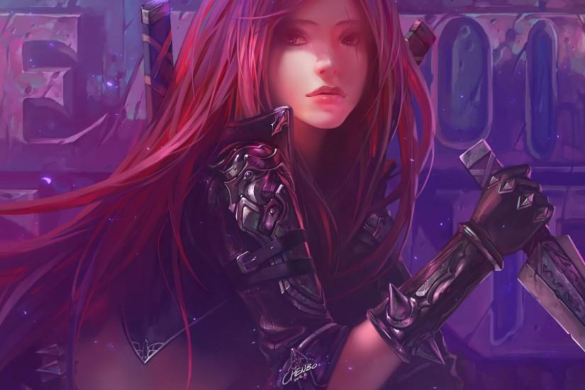 Katarina wallpaper by Chenbowow