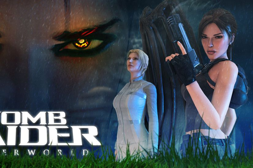 Tomb Raider Underworld Long Poster by Shyngyskhan Tomb Raider Underworld  Long Poster by Shyngyskhan