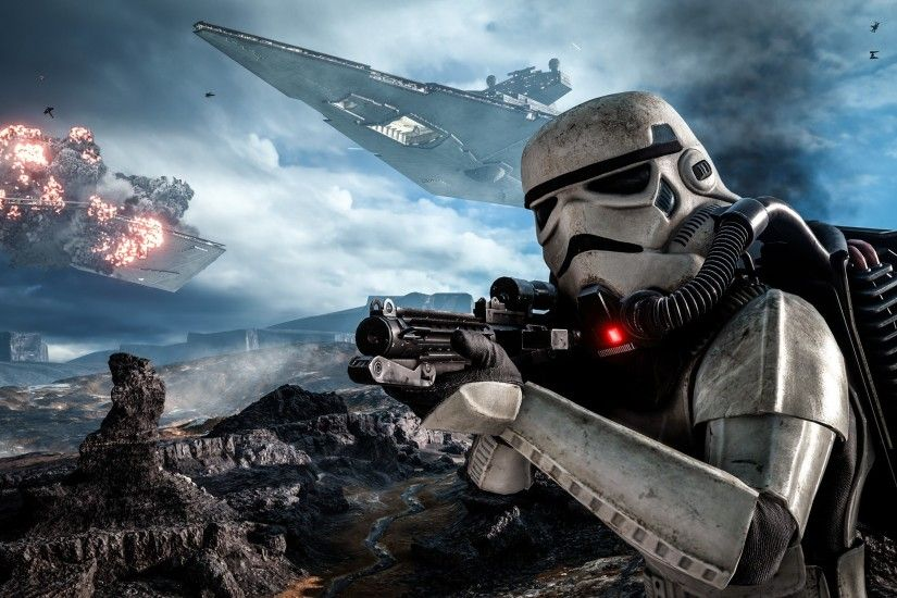 Video Game - Star Wars Battlefront (2015) Stormtrooper Star Wars Star Wars  Battlefront Wallpaper