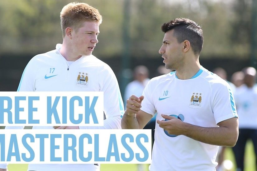 Kevin De Bruyne and Man City stars show off their free kick skills in  training (Video) | 101 Great Goals