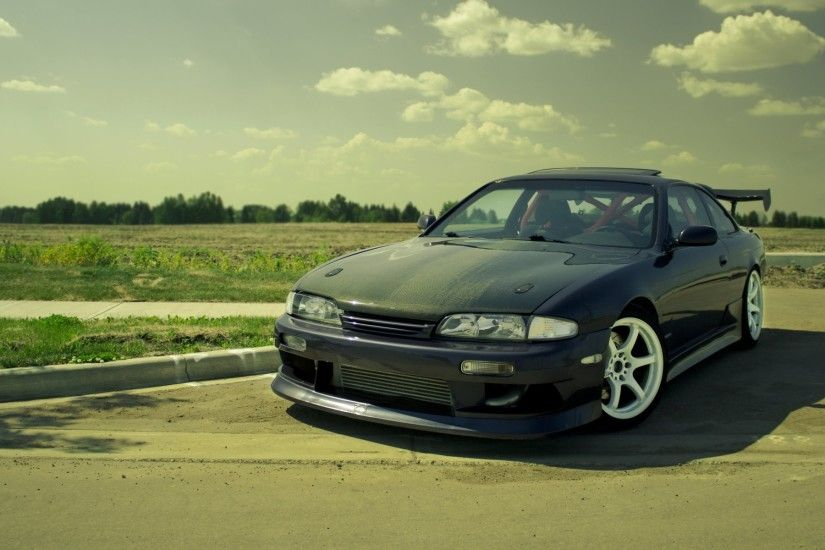 auto cars nissan s14 tuning tuning cars cars walls cars wallpapers parking  stop photo wallpaper desktop