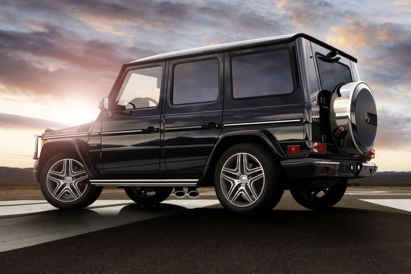 AMG G63 in Black with 20-inch AMG wheels