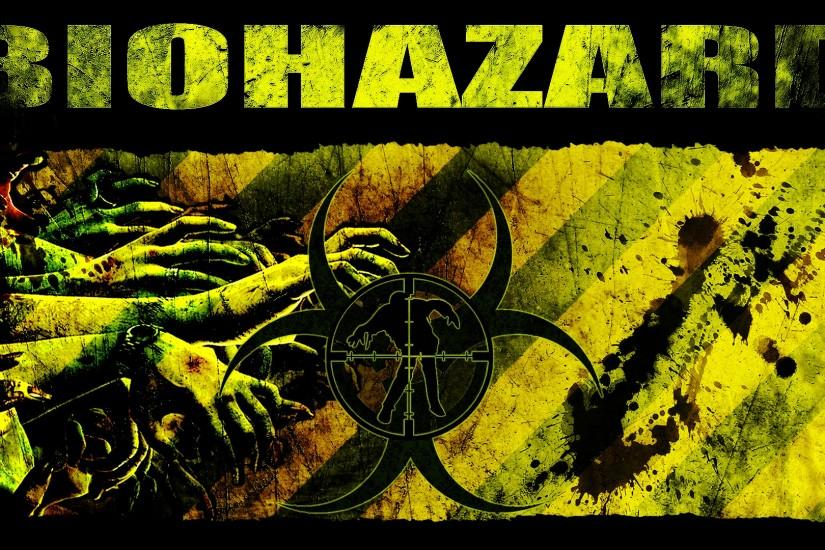 ... Zombie Hunter BIOHAZARD Wallpaper by Cru-the-Dwarf