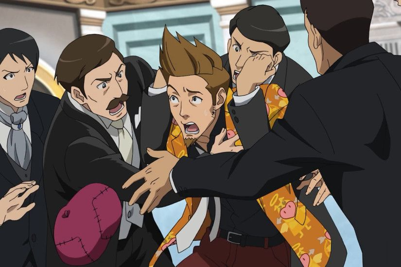 Image - Larry Wedding.png | Ace Attorney Wiki | FANDOM powered by Wikia