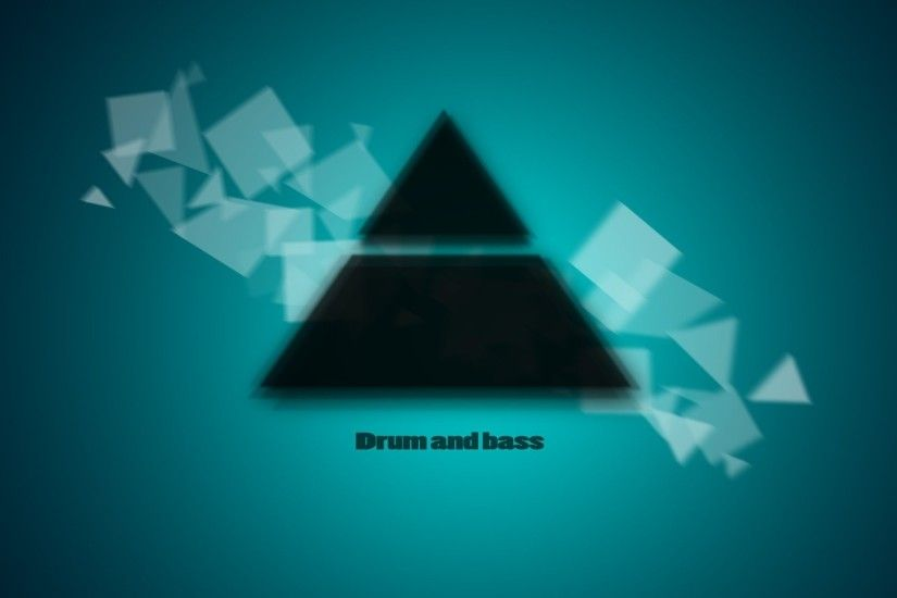 drum and bass dnb music square triangle
