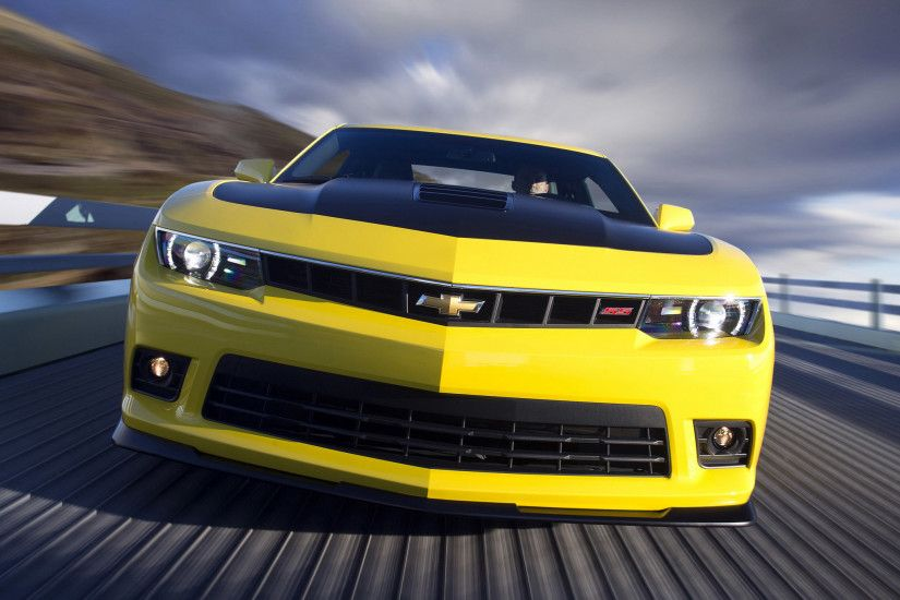 Chevrolet Camaro 2015 Z28 Yellow Car Wallpapers Android