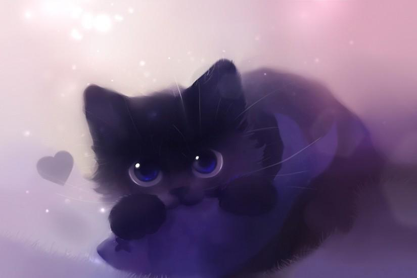 Cute Black Cat Wallpapers Desktop Background Free Download Wallpapers  Background 1920x1080 px 579.54 KB Animal Anime