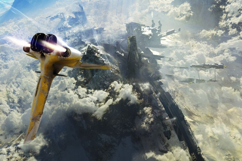 HD Wallpaper | Background ID:204513. 2560x1600 Sci Fi Spaceship. 10 Like.  Favorite