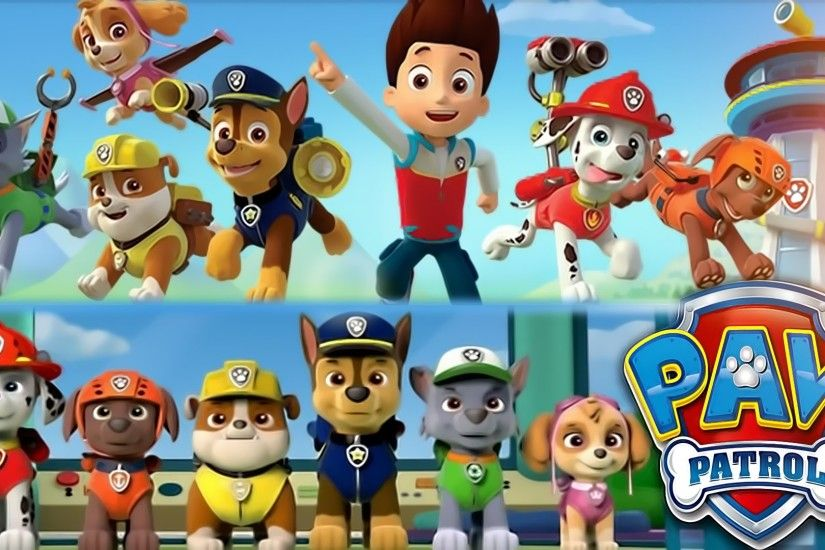 Paw Patrol Wallpapers Group with 53 items