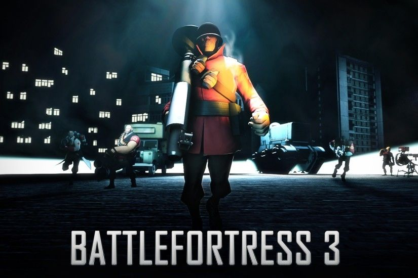2560x1440 Wallpaper battlefortress 3, team fortress 2, battlefield, art