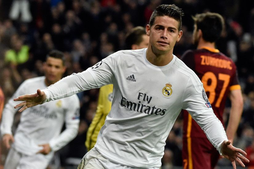Real Madrid vs Roma match report: Cristiano Ronaldo and James Rodriguez  goals seal Champions League quarter-final spot | The Independent