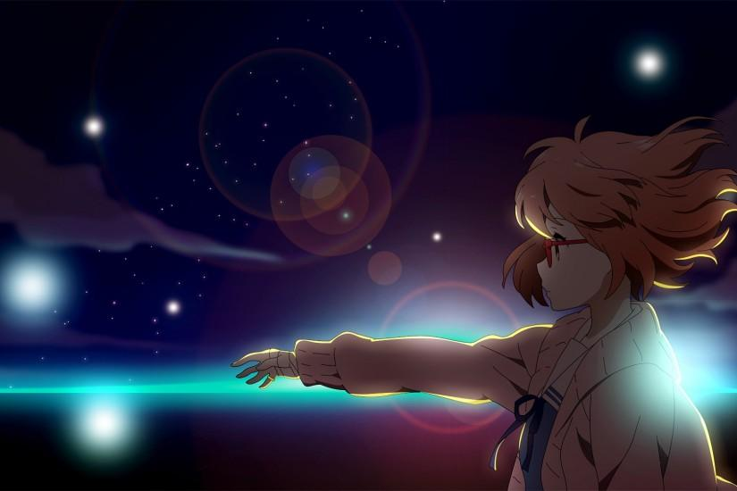 Anime Beyond The Boundary Mirai Kuriyama Wallpaper